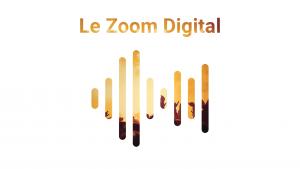 logo podcast Zoom Digital - rectangle blanc