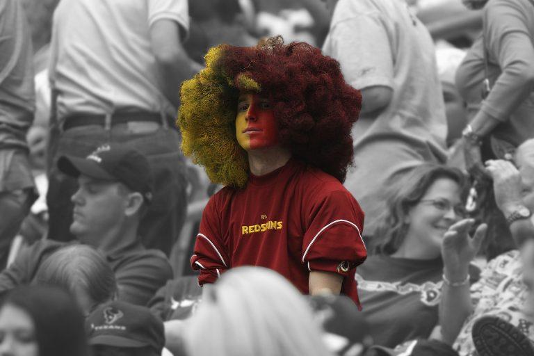 Sport fan supporter