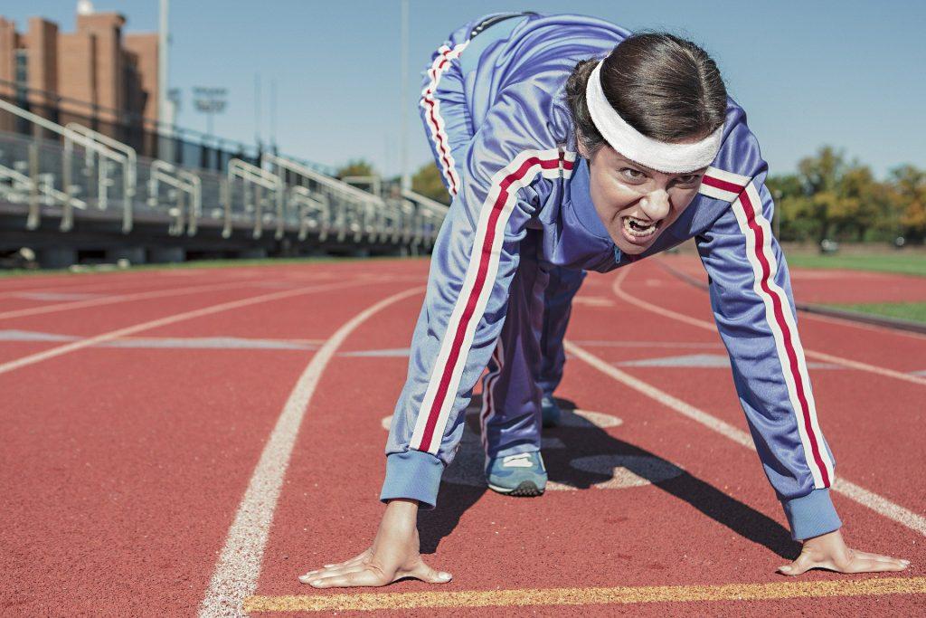 confinamiento de la federación de atletismo