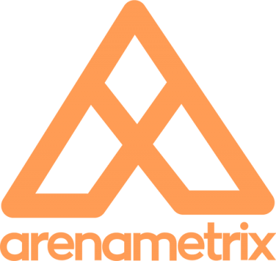 Orange Arenametrix Logo, cut out orange