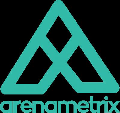 Arenametrix logo cut out green HD